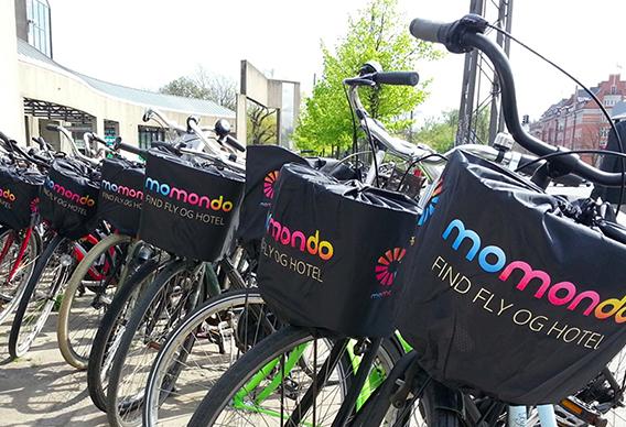 Momondo Cykelkorgsskydd